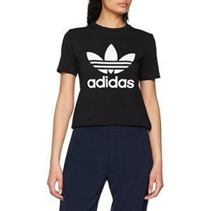 Adidas Trefoil T-shirt Femmes noir T. 38