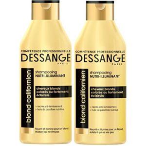Jacques Dessange Blond Californien - Shampooing nutri-illuminant pour cheveux blonds, colorés ou fortement éclaircis