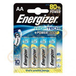 Image de Energizer 4 piles AAA / LR03 High Tech