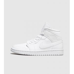 Jordan Chaussures casual Air 1 Mid Nike Blanc - Taille 41