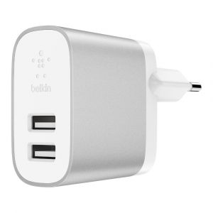Belkin Chargeur Secteur Boost Charge USB-A (F7U049VFSLV)