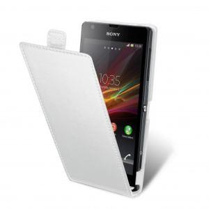 Muvit SESLI0047 - Étui à clapet pour  Sony Xperia SP