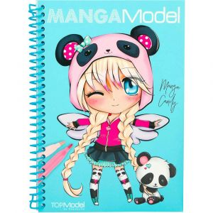 Depesche Top Model - Album de coloriage Manga