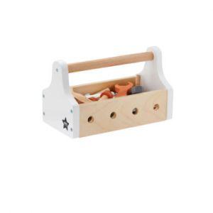 Kids concept Boîte à outils en bois Star natural (20 pièces)