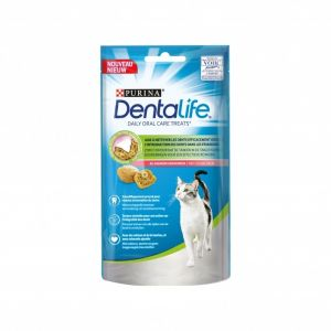 Purina Friandises Pour Chat Adulte Au Saumon Dentalife - Le Paquet De 40g