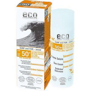 Eco Cosmetics Crème Solaire Teintée Surf & Fun - 50 ml - SPF 50+