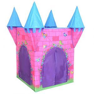 Bentley Charles - Tente de Jeu château de Princesse - Enfant - intérieur/extérieur - Rose