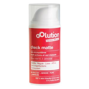 Oolution Check matte - Soin Visage Multi-Actions et Sur-Mesure 30 ml