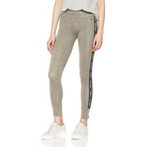 Tommy Hilfiger Legging, Leggings Femme, Gris (Grey Heather 004), X-Small