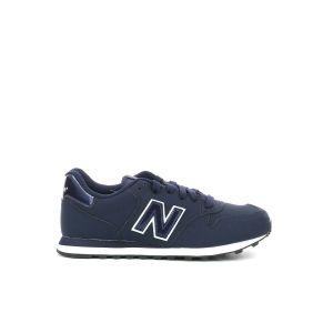 New Balance 500, Baskets Femme, Bleu Navy/White, 36 EU