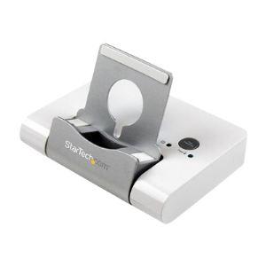 StarTech.com ST4300U3C1 - Hub 3 ports USB 3.0 + 1 port charge rapide 2,1A avec socle pour smartphone et tablette