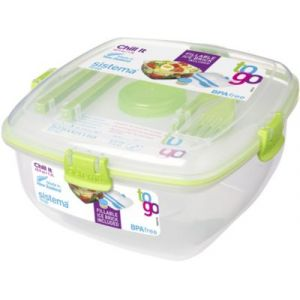 Sistema Lunch box carrée à clips Chill It To Go 1.3 L