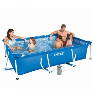 Image de Intex 28275 - Piscine tubulaire rectangulaire 3 x 2 x 0.75 m + épurateur