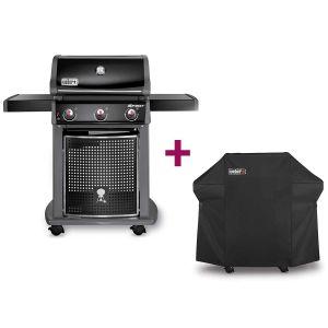 Weber Spirit Classic E-310 - Barbecue au gaz + Housse