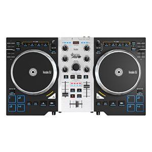 Hercules DJ Control Air + S Series - Contrôleur DJ/Table de mixage USB pour PC/MacBook