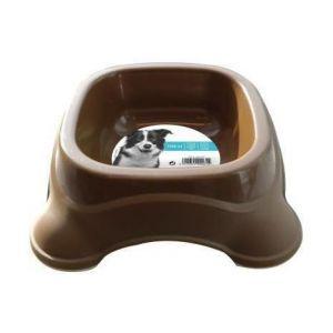 M pets Gamelle en plastique simple PLASTIC BOWL - Pour chien - 1150ml - Coloris divers - Moelleux - Ultra confortable - Douillet - Tissu doux - Lavable à la machine à 30°C
