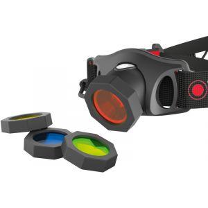 Led lenser Filtre de couleurs rouge/bleu/vert/jaune Ledlenser 100880