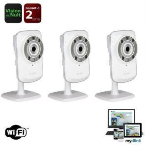 D-link DCS-932LX3 - Pack de 3 caméras IP DCS-932L