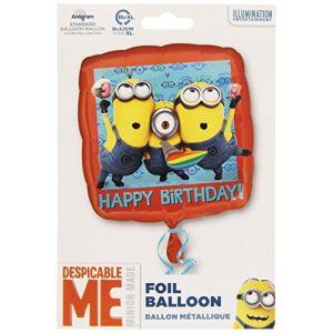 Ballon aluminium Minions (43 cm)