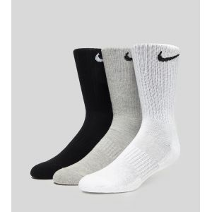 Nike Chaussettes de training Everyday Cushion Crew (3 paires) - Multicolore - Taille S