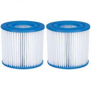 Summer Waves Lot de 2 cartouches filtres pour piscine modèle D