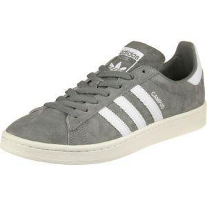 Adidas Campus, Chaussures de Fitness Homme, Gris (Grey Three/Footwear White/Chalk White), 40 EU