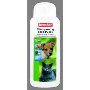 Beaphar Shampooing stop puces pour chiens et chats (250 ml)