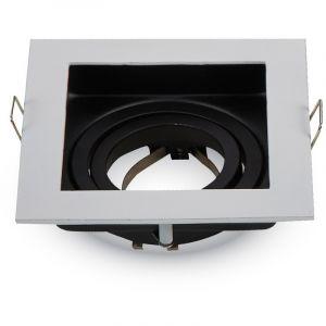 Image de AGS Support LED carré blanc