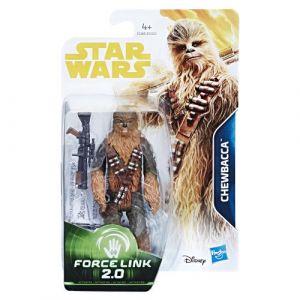 Hasbro Figurine Galaxy 10 cm - Star Wars Han Solo - Chewbacca