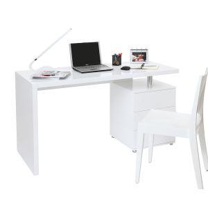 Miliboo Bureau design Calix 3 tiroirs