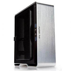 Inwin Chopin BQ 696 - Boîtier Mini ITX aluminium avec alimentation 150W