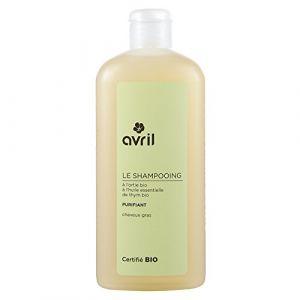 Avril Le shampooing purifiant cheveux gras