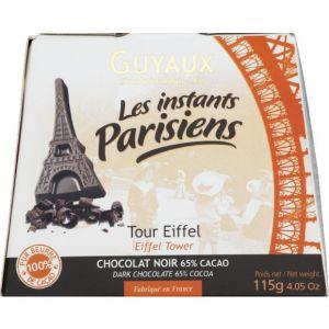 Guyaux Tour eiffel en chocolat noir - La boite de 115g