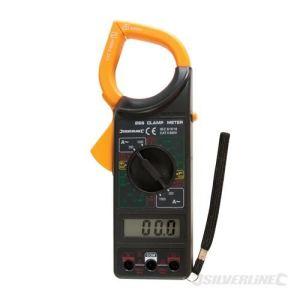 Silverline 228541 - Pince ampèremétrique numérique CC & CA