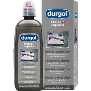 Durgol Swiss Vapura - Détartrant spécial pour centrales vapeur et nettoyeurs vapeur (500 ml)