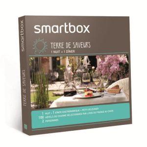 smartbox terre de saveurs coffret cadeau gourmand pour 2 personnes comparer avec. Black Bedroom Furniture Sets. Home Design Ideas