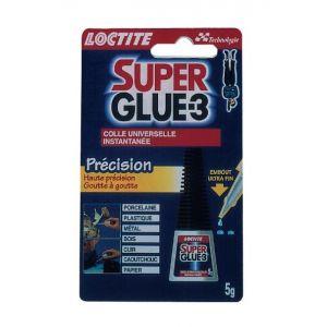 Loctite Super Glue 3 : Liquide Précision - Tube 5g