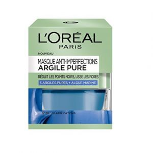 L'Oréal Masque Anti-Imperfections Argile Pure 3 Argiles Pures + Algue marine 50ml