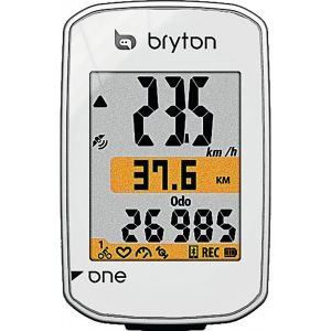 Bryton Compteur GPS Rider One, Blanc, ND
