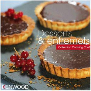 Kenwood Livre de cuisine DESSERTS ET ENTREMETS