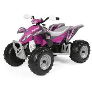 Peg Perego Quad electrique Perego Polaris Outlaw 12V Rose Violet Perego