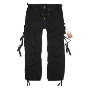 Brandit M65 Vintage Homme Cargo Pantalon - Noir, 5XL