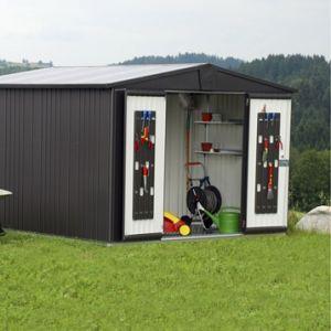 Biohort Europa T7 - Abri de jardin en métal 9,48 m2