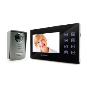 "Avidsen 102267 Asgard - Interphone vidéo ultra plat écran 7"" couleur"