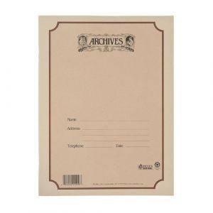 D'Addario Bowed Cahier manuscrit à reliure spirale Archives, 10 portées, 48 pages