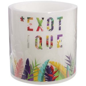 The home deco factory Bougie LED Exotique 15 cm Exotique