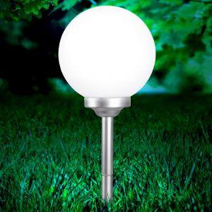 Globo Lampe solaire à LED, boule 30 cm, SOLAR