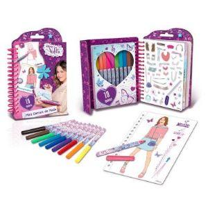 Canal Toys Mini carnet de mode Violetta