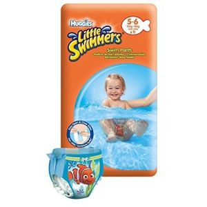 Huggies Little Swimmers taille 5/6 (12-18 kg) - 2 x 11 couches de bain