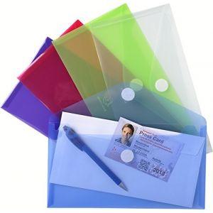 Exacompta 56510E - Sachet de 5 pochettes enveloppes pour chéquier